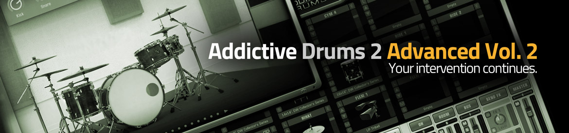 Addictive Drums 2 Advanced Vol 2