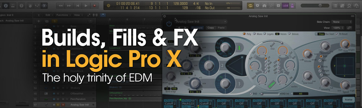 Builds, Fills & FX in Logic Pro X
