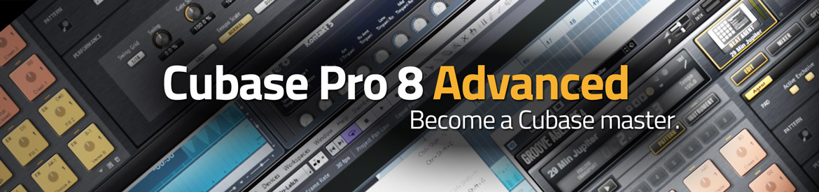 Cubase Pro 8 Advanced