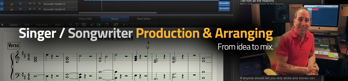 Singer / Songwriter Production & Arranging