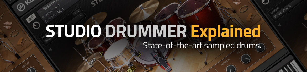 STUDIO DRUMMER Explained