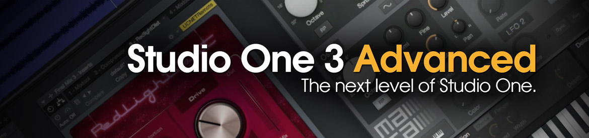 Studio One 3 Advanced