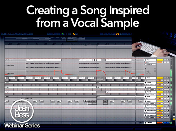 Creating a Song Inspired from a Vocal Sample - Tutorial Video