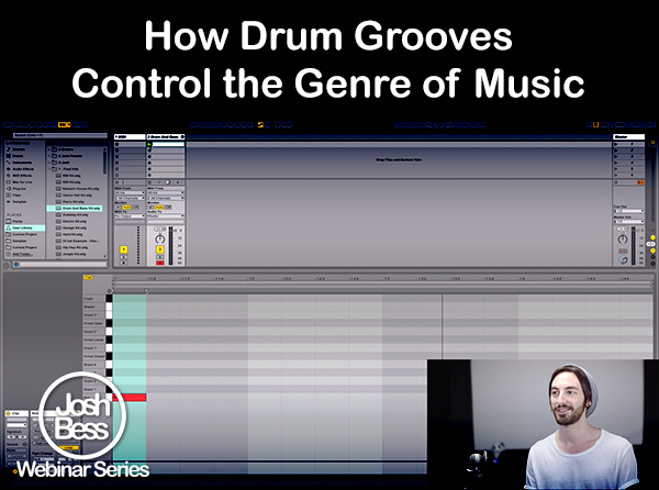 How Drum Grooves Control the Genre of Music - Tutorial Video
