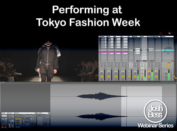 Performing at Tokyo Fashion Week