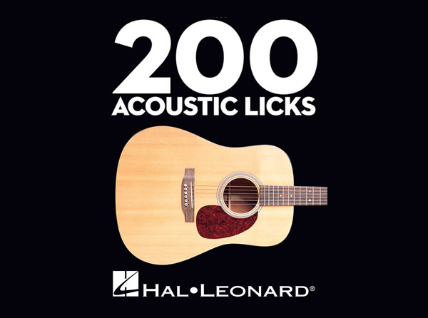 200 Acoustic Licks