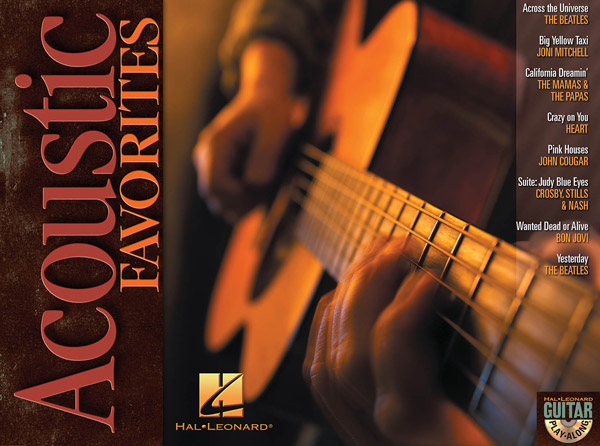 Acoustic Favorites: Guitar Play-Along