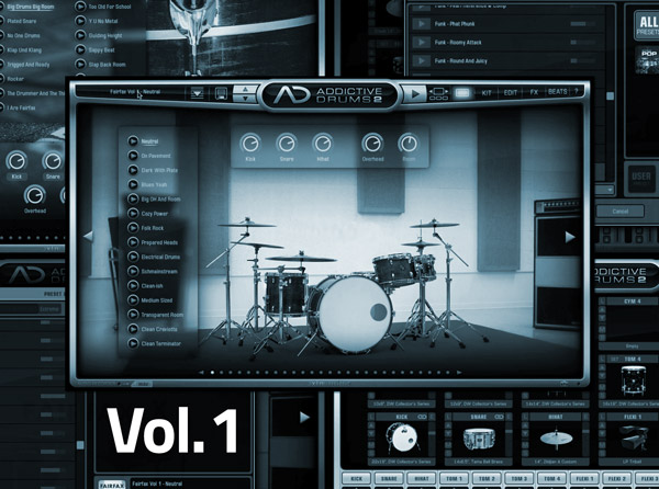 Addictive Drums 2 Advanced Vol 1