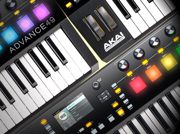 AKAI Advance Keyboards Explained