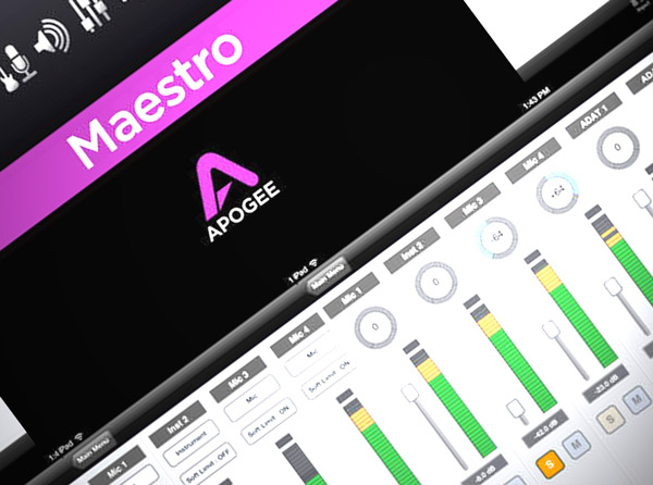 Apogee Maestro for iOS Explained