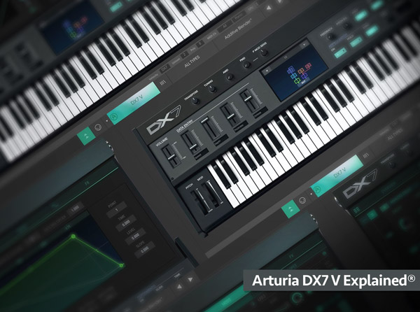 Arturia DX7 V Explained