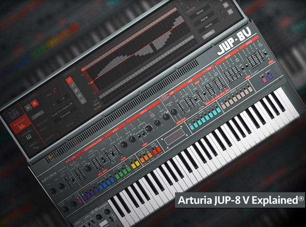 Arturia Jup-8 V Explained