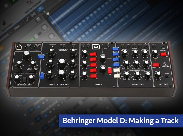 Behringer Model D: Making a Track