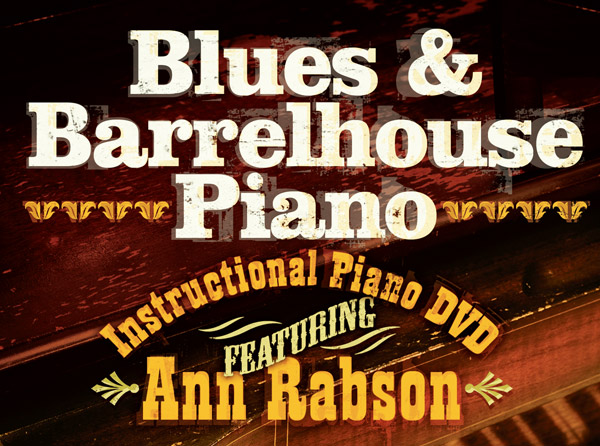 Blues & Barrelhouse Piano Video Tutorial Series
