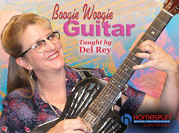Boogie Woogie Guitar by Del Rey Video Tutorial Series