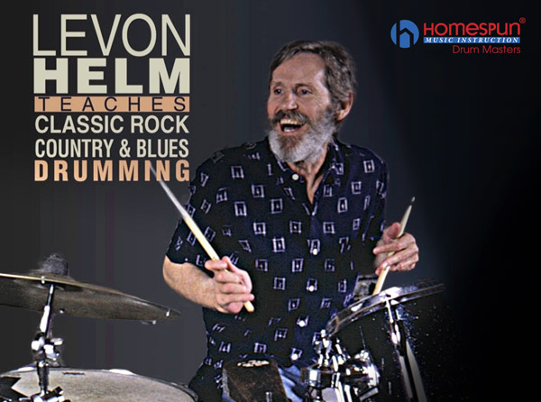 Levon Helm Teaches Classic Rock, Country & Blues Drumming Video Tutorial Series