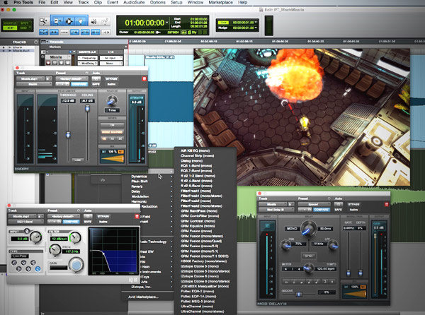 Creating Game Audio with Pro Tools Video Tutorial Series
