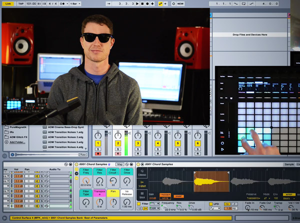 Creative Racks & Sampling in Live Video Tutorial Series