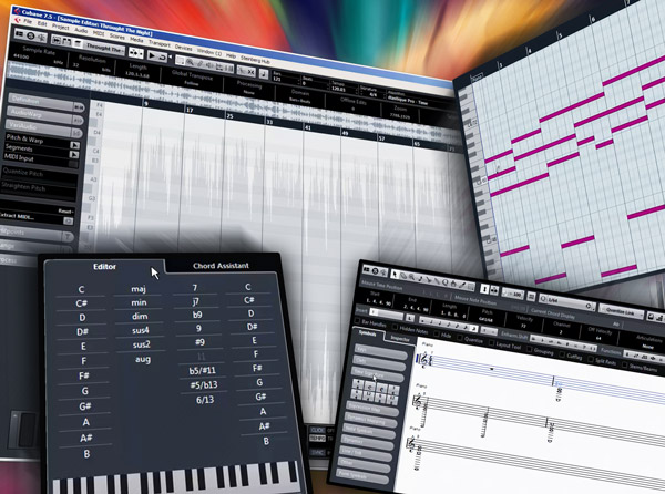 Cubase Editors Explained