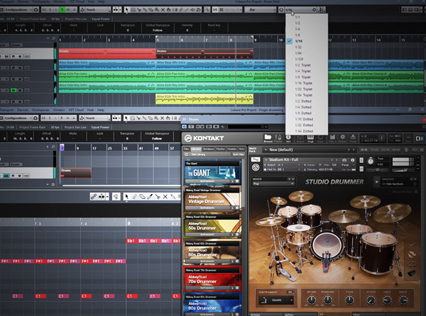 Cubase 9 Know-How: Acoustic Drum Programming