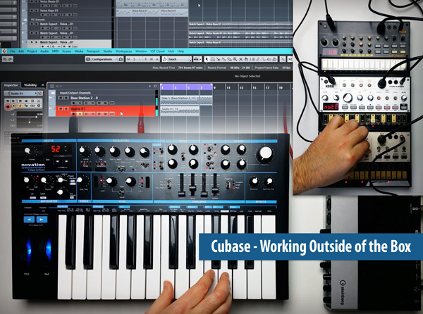 Cubase - Working Outside of the Box