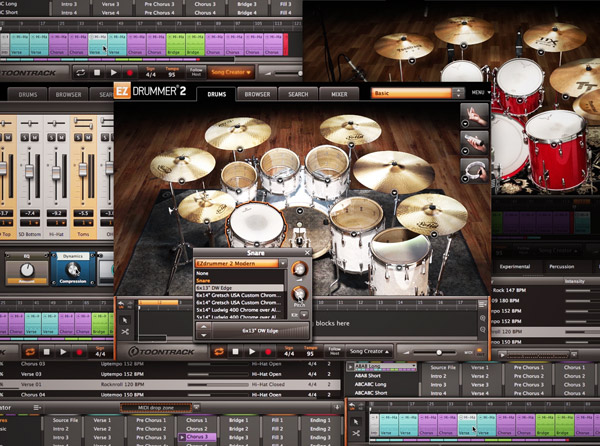 EZdrummer 2 Advanced