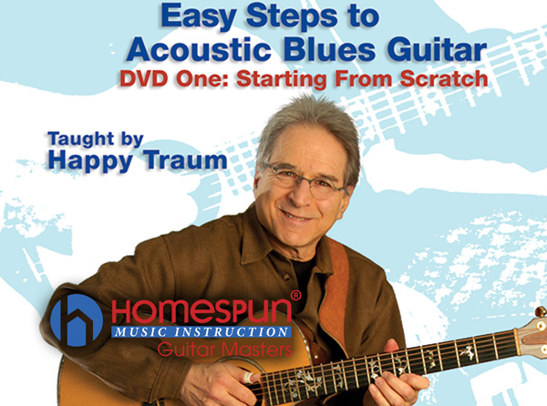 Easy Steps to Acoustic Blues Guitar Pt 1