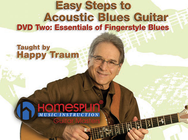 Easy Steps to Acoustic Blues Guitar Pt 2