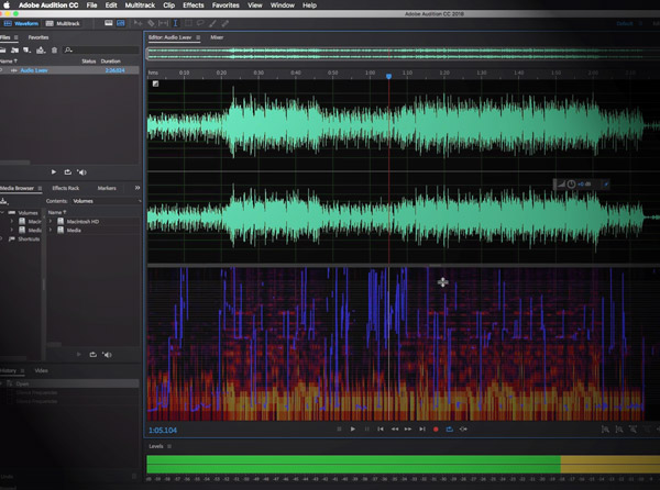 Editing Audio with Adobe Audition