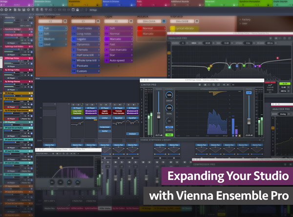 Expanding Your Studio with Vienna Ensemble Pro