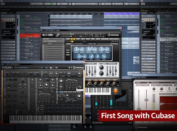 First Song with Cubase