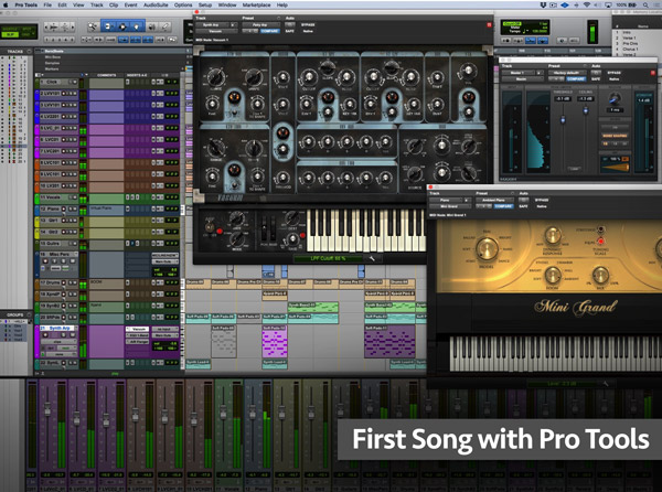First Song with Pro Tools
