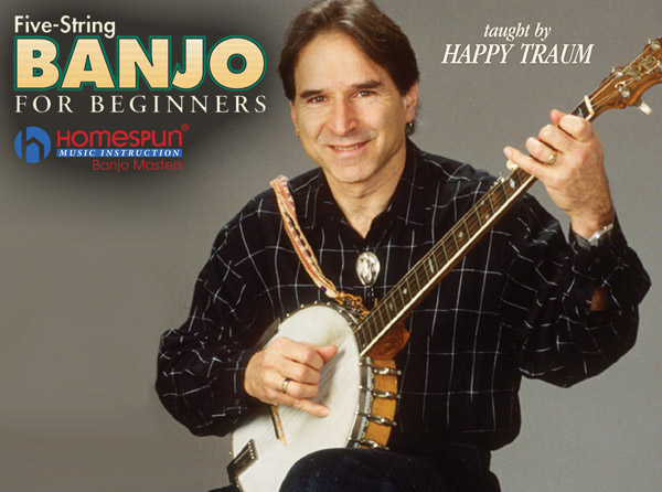Five-String Banjo for Beginners Video Tutorial Series
