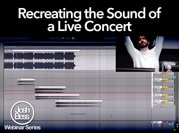 Recreating the Sound of a Live Concert - Tutorial Video