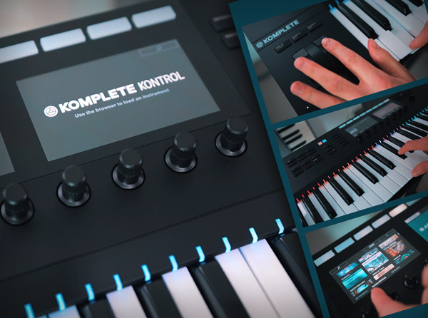 KOMPLETE KONTROL MK2 Power Start