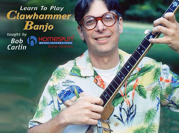 Learn to Play Clawhammer Banjo Video Tutorial Series