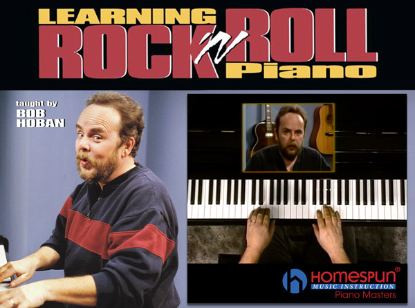 Learning Rock N Roll Piano Video Tutorial Series