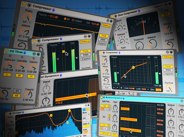 Ableton Live Compressors & EQs In Action