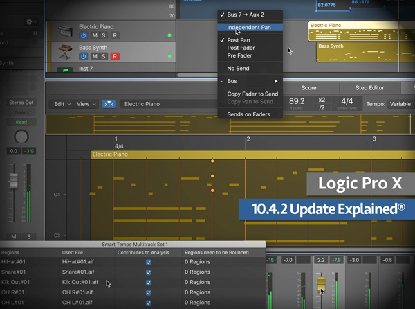 Logic Pro X 10.4.2 Update Explained