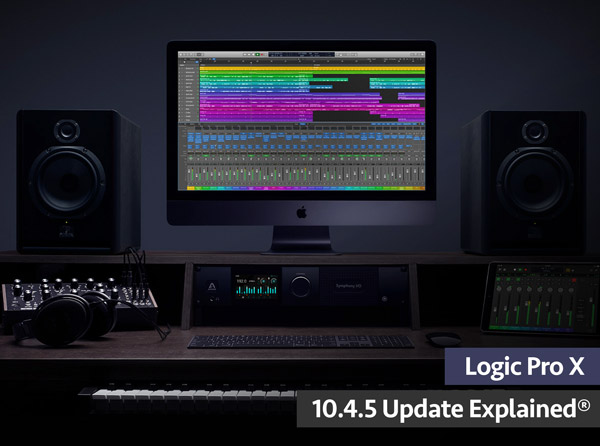 Logic Pro X 10.4.5 Update Explained