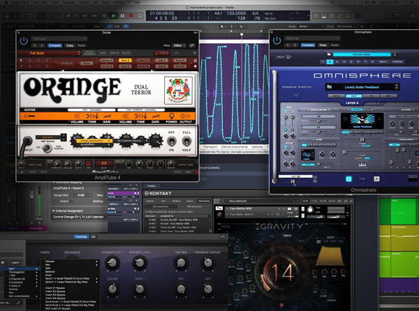 Logic Pro X 3rd Party Plug-in Mapping with Smart Controls