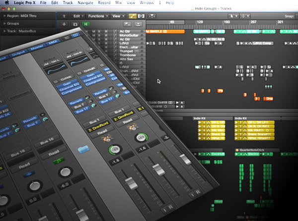 Logic Pro X Advanced Vol 1