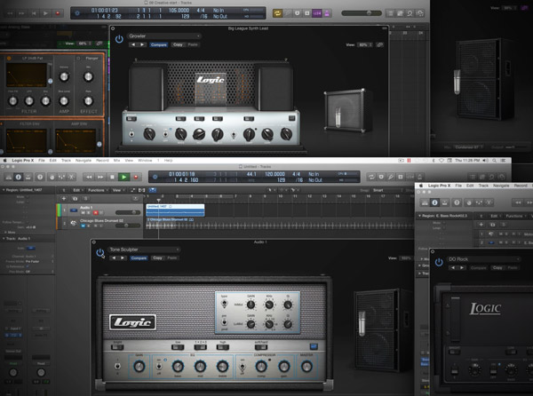 Logic Pro X Know-How: Bass Amp Designer