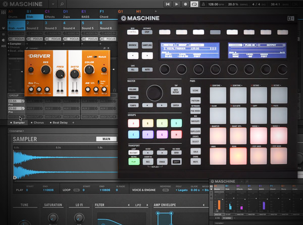 MASCHINE Know-How: The Audio Mixer