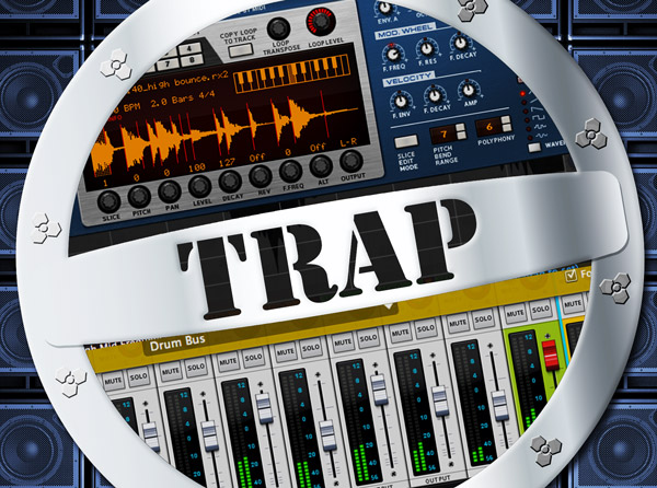 Making Trap with Reason Video Tutorial Series