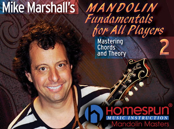 Mike Marshall Mandolin Fundamentals for All Players Pt. 2