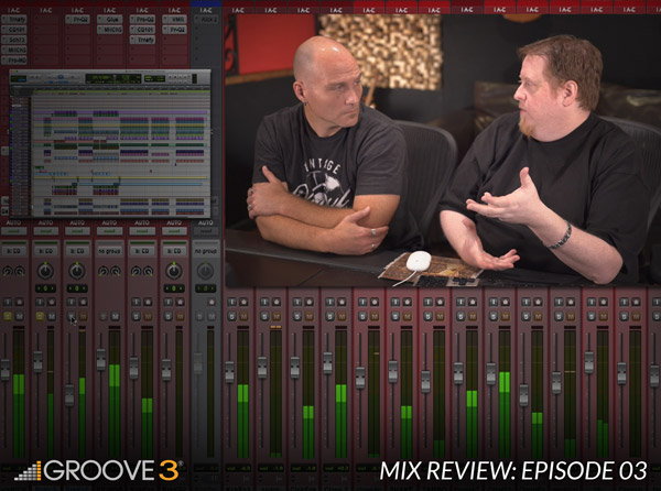 Mix Review with Bob Horn & Erik Reichers - Episode 3