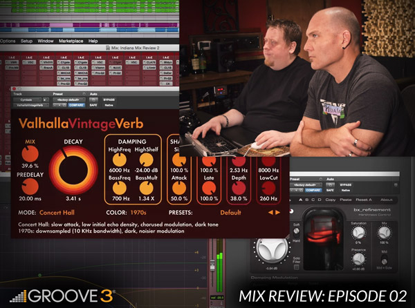 Mix Review with Bob Horn & Erik Reichers - Episode 2