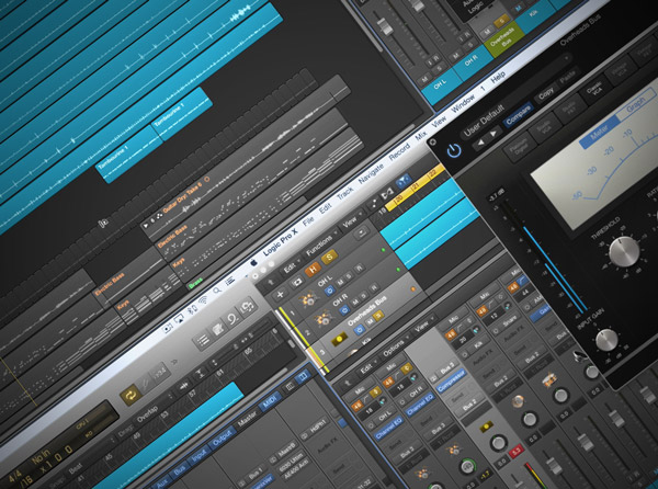 Mixing Drums in Logic Pro X