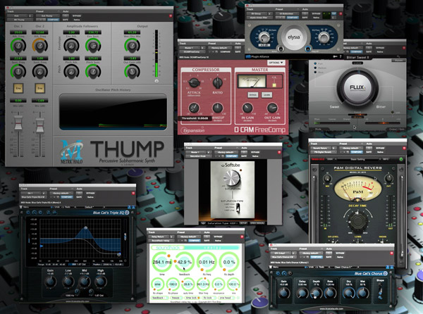 Mixing with FREE Plug-Ins